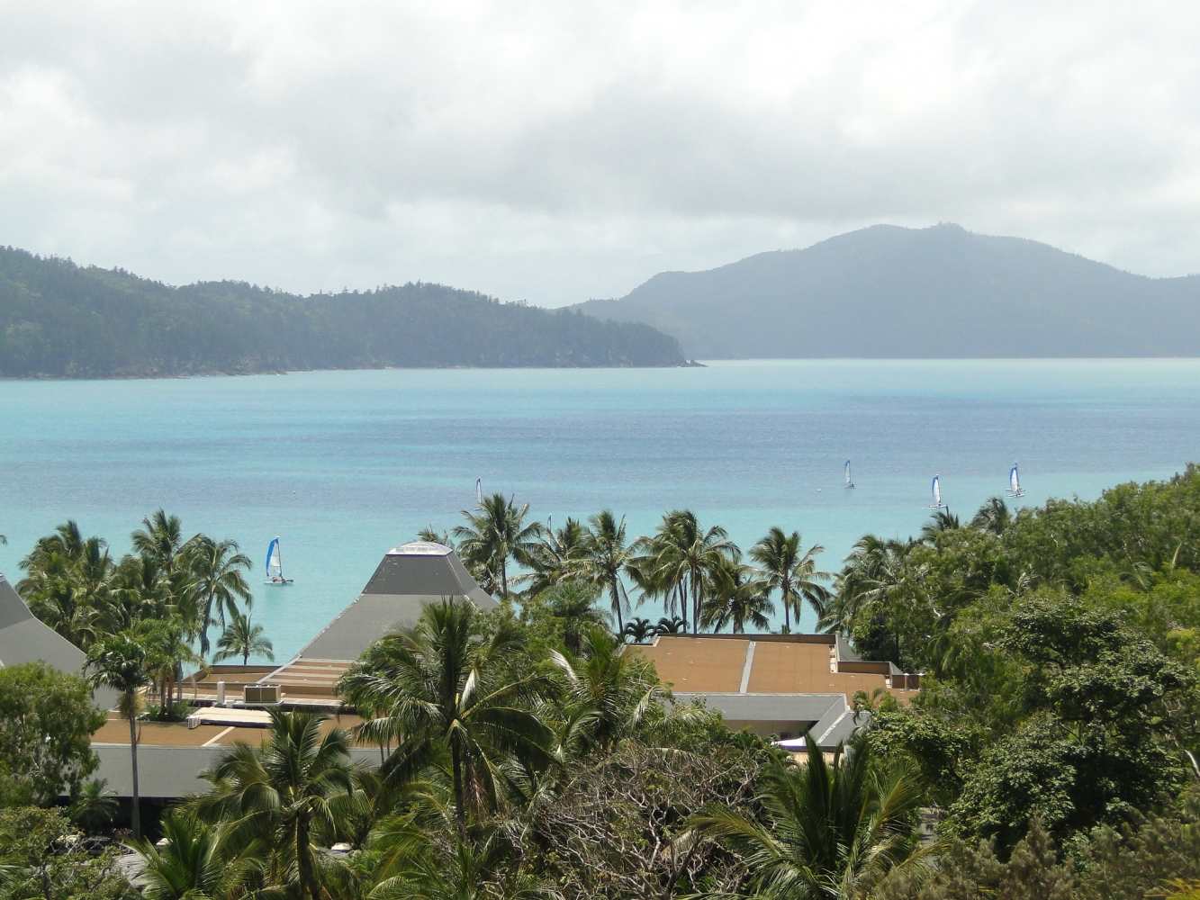 View From Balcony of Catseye Beach/Bay